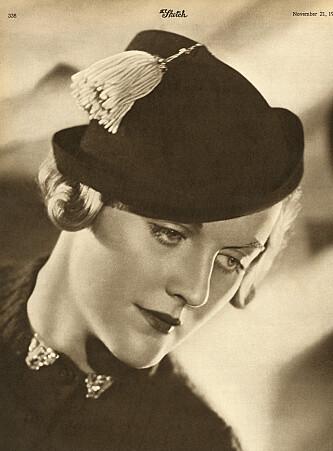 <strong>FASCIST:</strong> Diana Mitford var kjent for å være vakker. Det sies at hennes forelskelse i fascisten Oswald Mosley inspirerte søsteren Unitys framstøt mot Adolf Hitler. Foto: Historia/REX/NTB Scanpix