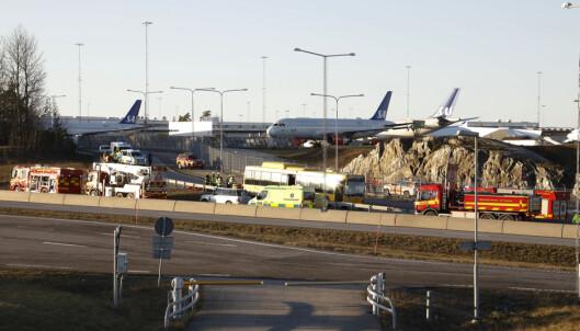 To omkom i bussulykke ved Arlanda