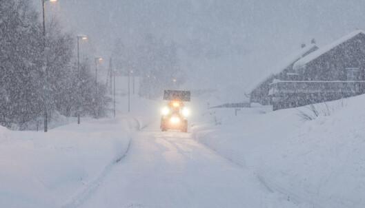 Farevarsel: Uvær på vei flere steder