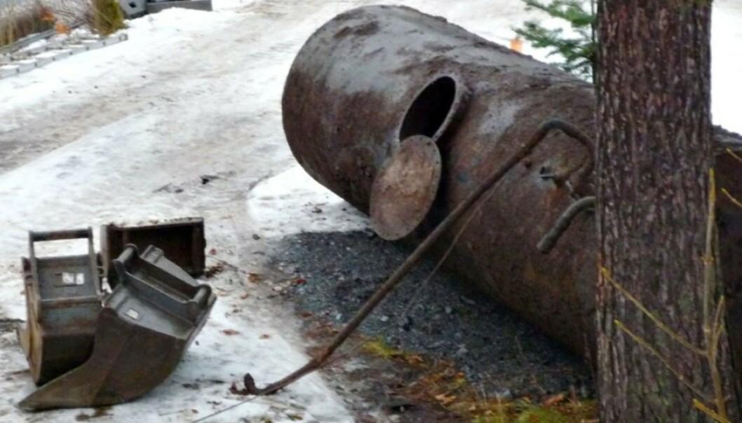 <strong>GRAVE OPP OLJETANKEN:</strong> Miljødirektoratet vil at hovedregelen skal være at alle må grave opp den gamle oljetanken. Foto: Merete Beyer/Oljefri.no