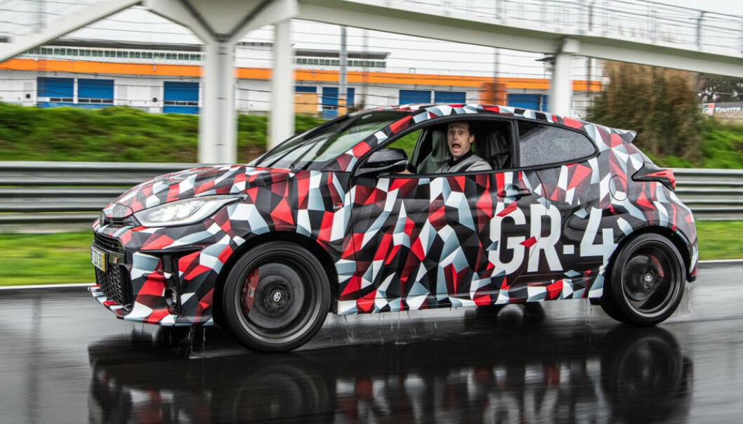 <strong>LOMMERAKETT:</strong> GR Yaris markerer en ny og mer sportslig retning fra Toyota. Foto: Jayson Fong
