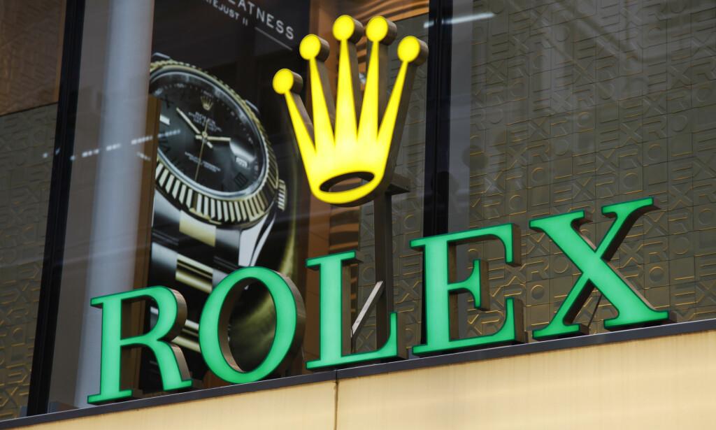 PRISHOPP: Rolex har satt opp prisen kraftig på flere populære modeller i Norge, skriver E24. Foto: Paul Brown / REX / NTB Scanpix