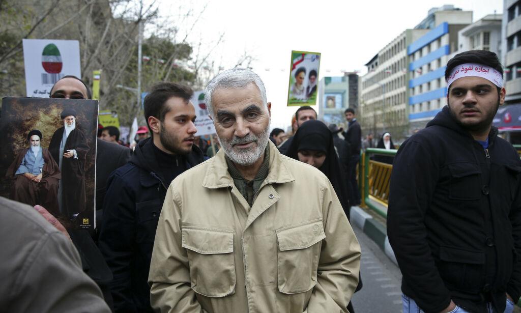 image: Mektig iransk general drept i rakettangrep