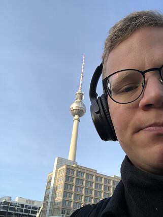 """""""Gåturen på vei til kurs gjennom Alexanderplatz"""". 📸: Privat"""