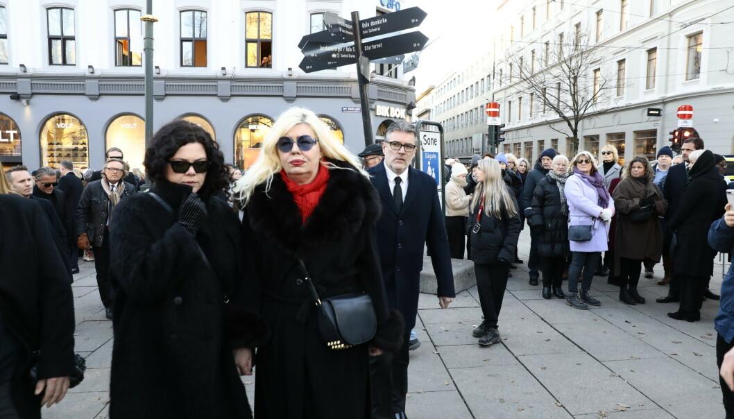 BESTEVENN: Unni Askeland (t.h) var en av Ari Behns beste venner. Foto: Nina Hansen / Dagbladet