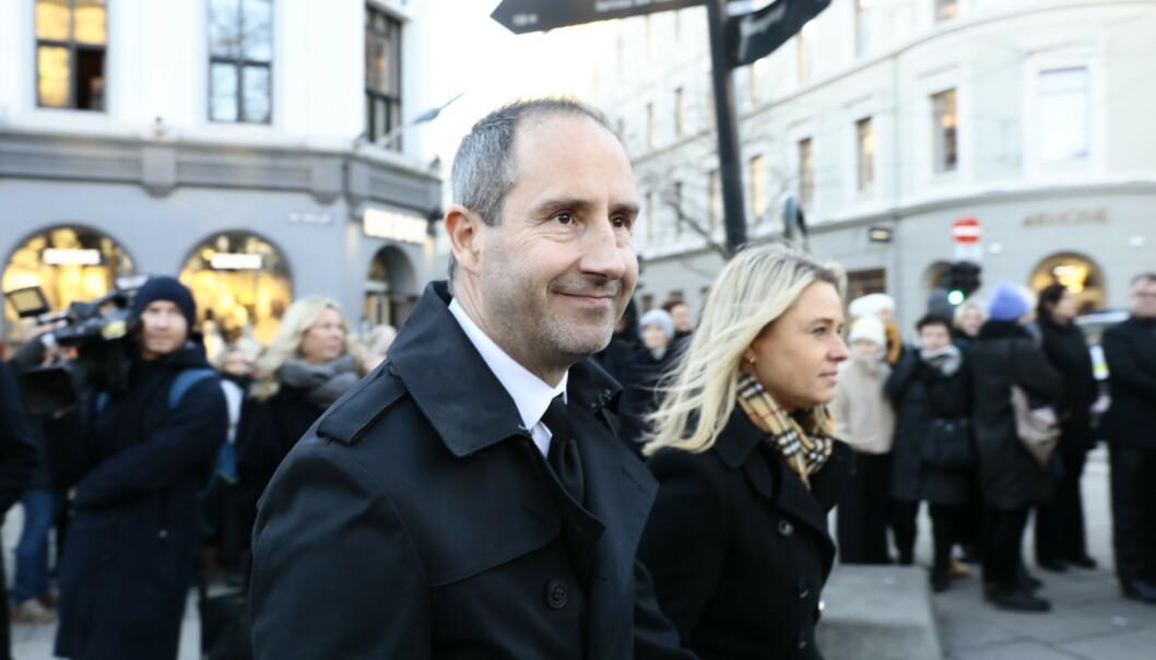 - TRIST: Harald Rønneberg husker godt sitt første møte med Ari Behn. Foto: Nina Hansen / Dagbladet