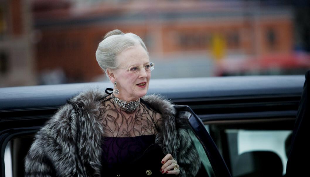 Innbrudd hos dronning Margrethe