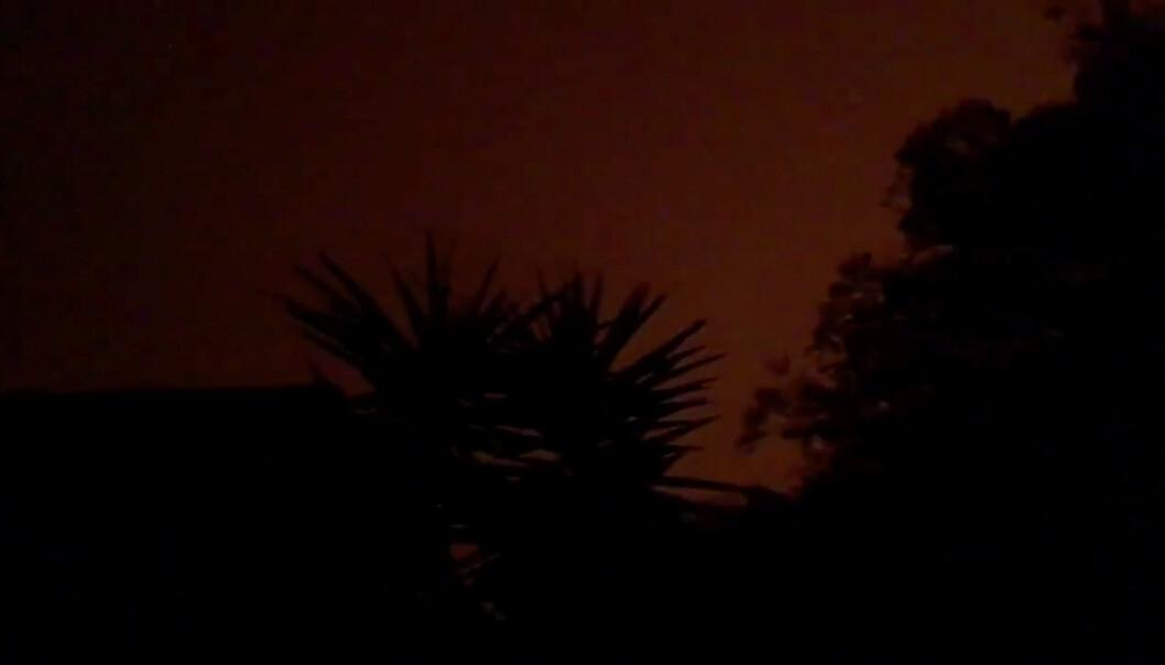 Kullmørke - midt på dagen