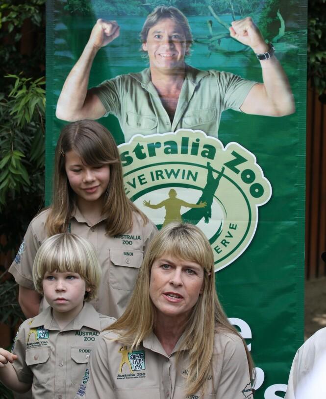 <strong>DRIVER DYRESYKEHUS:</strong> Steve Irvins familie driver fortsatt den kombinerte dyrehagen-og dyresykehuset som Steve Irwin startet i sin tid. Foto: NTB Scanpix
