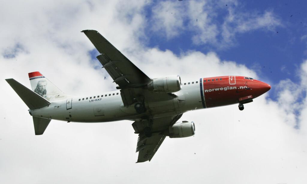 IKKE LISTET: Sas har fått en plassering på lista over verdens 20 sikreste flyselskap, men det har ikke Norwegian. Les hvorfor i saken under. Foto: Morten Holm/NTB Scanpix.