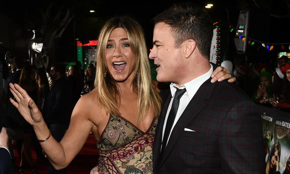NY FLAMME?: Jennifer Aniston skal etter alt å dømme ha funnet lykken med filmregissør Will Speck. Her sammen i 2016. Foto: NTB Scanpix
