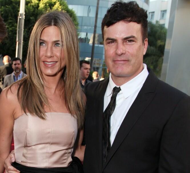 NY FLØRT?: Jennifer og Will Speck i forbindelse med «The Switch»-premieren for ti år siden. Foto: NTB Scanpix