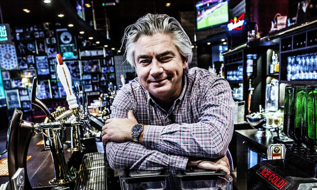 <strong>POPULÆRT KONSEPT:</strong> Restaurantkjeden O'Learys har en klar plan for sin ekspansjon de neste fem åra. Avbildet er den svenske grunnleggeren, Jonas Reinholdsson. Foto: NTB Scanpix