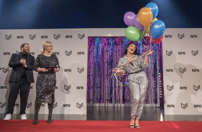 <strong>SYNES DET ER STAS:</strong> Artist Ulrikke Brandstorp deltok i MGP i 2017, men er nå klar for å delta for andre gang med låten «Attention». Foto: Ole Berg-Rusten / NTB scanpix