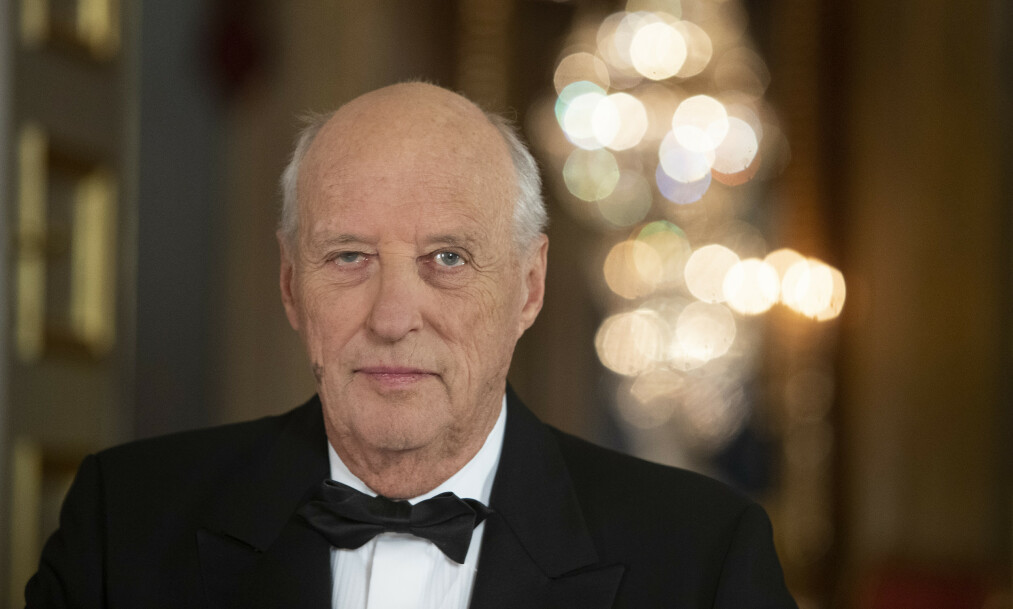 <strong>PÅ RIKSHOSPITALET:</strong> Kong Harald har vært innlagt på sykehuset siden onsdag. Foto: Terje Bendiksby / NTB scanpix