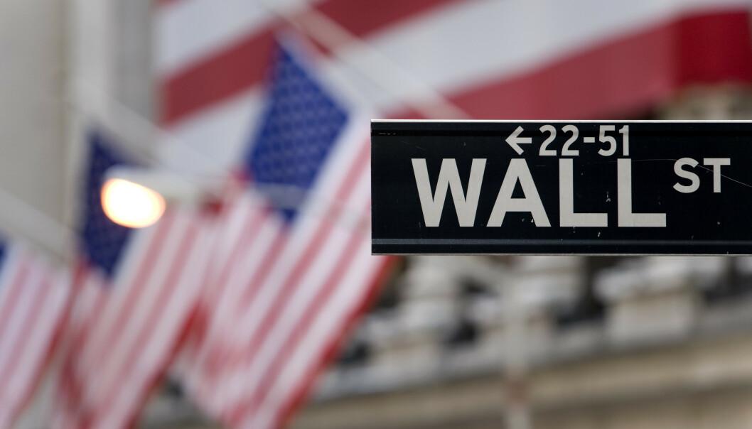 <strong>NED:</strong> Amerikanske børser åpner i rødt mandag. Foto: NTB scanpix