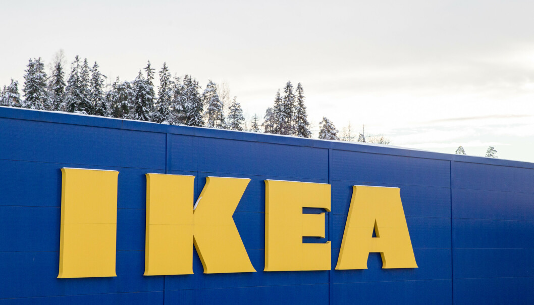 Her fra Ikea i Asker. Foto: Foto: Audun Braastad / NTB scanpix