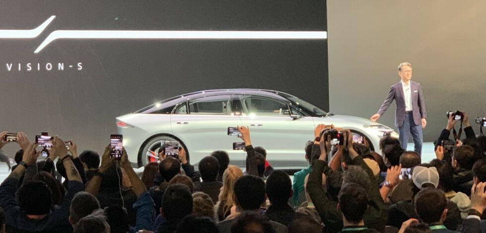 image: Sony overrasket alle med elbilen Vision S