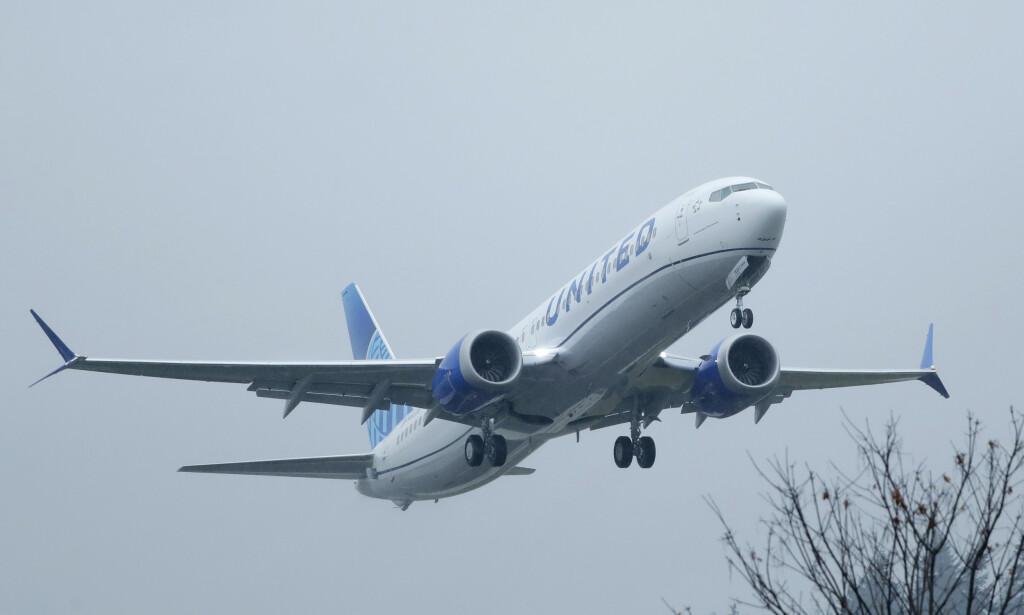 NY FEIL: Flyprodusenten Boeing kan ha oppdaget nok en feil ved skandaleflyet MAX 737. Foto: Ted S. Warren / AP / NTB Scanpix