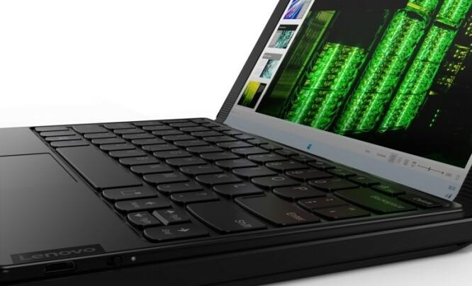 X1 Fold har støtte for Bluetooth-tastatur. Foto: Lenovo