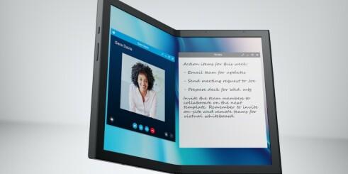 Dell og Lenovo med brettbare PC-er