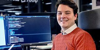 image: Joachim starta på kundeservice. Nå er han utvikler