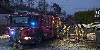 image: Jente (7) omkom etter brann: - Tragisk