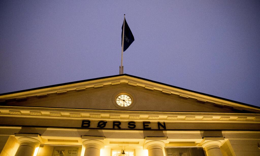 NEDTUR: Hovedindeksen på Oslo Børs falt med 2,7 poeng tirsdag, og endte på 937,40 poeng ved børsslutt. Foto: Terje Pedersen / NTB scanpix