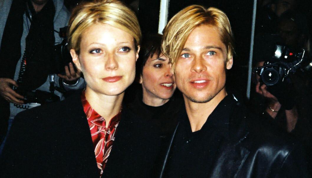 <strong>VAR SAMMEN:</strong> Paltrow og Pitt var sammen fra 1994 til 1997 - og er gode venner den dag idag, ifølge Paltrow. Foto: NTB Scanpix
