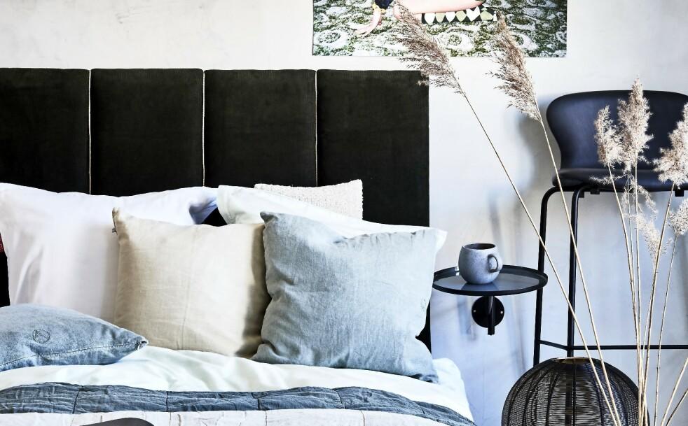<strong>SENGEGAVL:</strong> Tips! Vil du gi soverommet et japanske preg, velger du en lav seng, eller legg madrassen rett på gulvet. FOTO: Martin Panduro