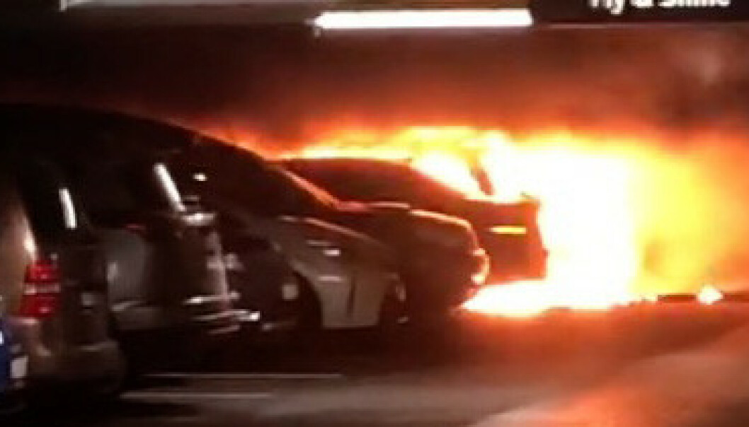 Filmet brannen fra innsida: - Spredde seg vanvittig fort