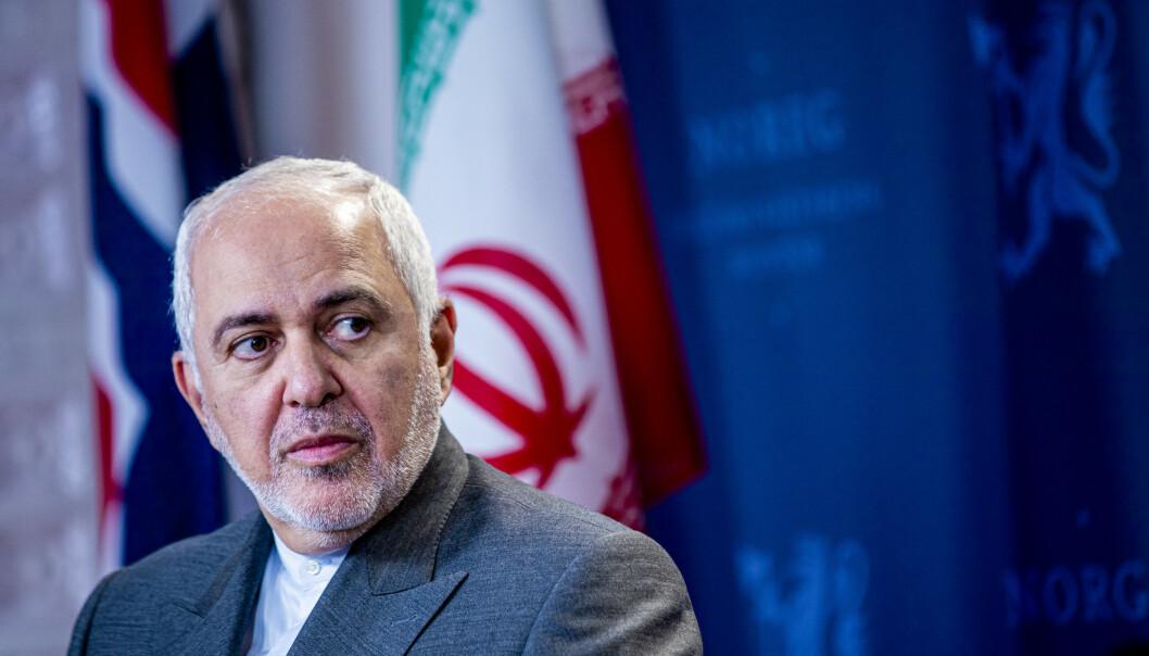 Irans utenriksminister Javad Zarif hevder angrepet mot basene i Irak var selvforsvar, og sier de ikke ønsker krig. Foto: Stian Lysberg Solum / NTB scanpix