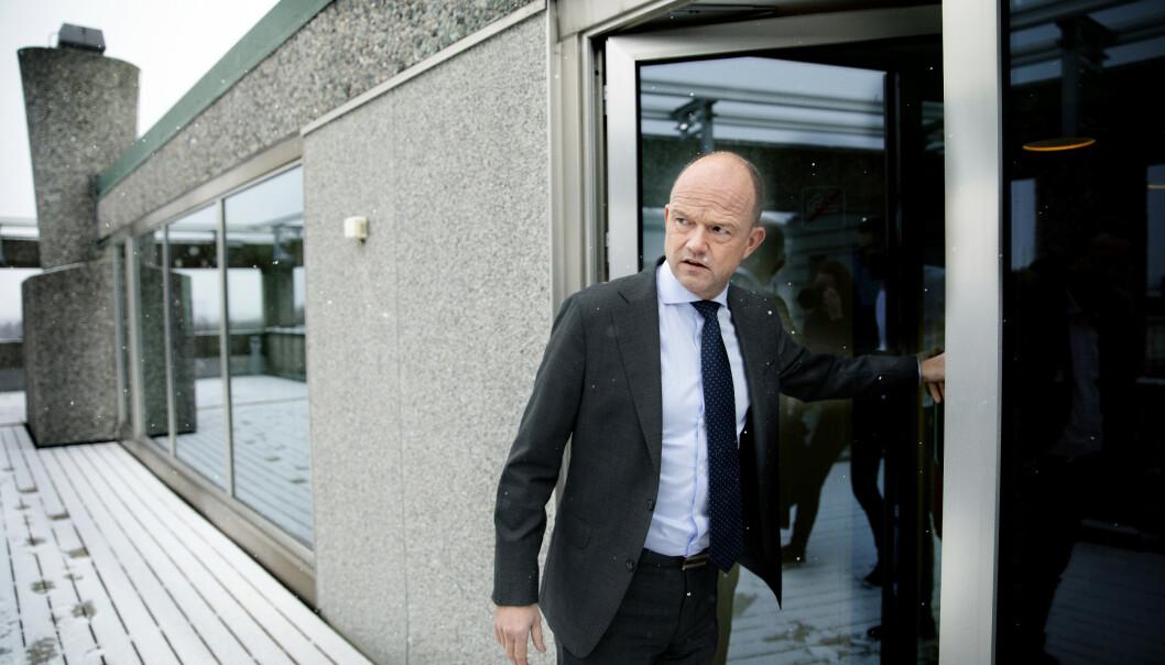 <strong>VIL ÅPNE OPP:</strong> Norge kan ikke stenge ned muligheten for å bruke naturressurser, sier NHO-sjef Ole Erik Almlid. Foto: Kristin Svorte / Dagbladet