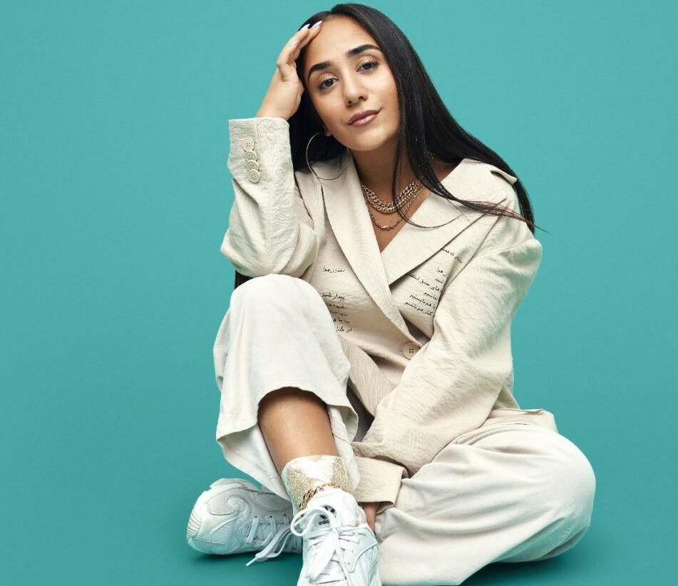 UNGT TALENT: Amanda Delara var kun 20 år gammel da hun slo gjennom som artist med remiksen «Gunerius». Nå slipper hun ut nok et nytt album på norsk - og fortsatt vil hun treffe nerver. FOTO: Sony Music Norway