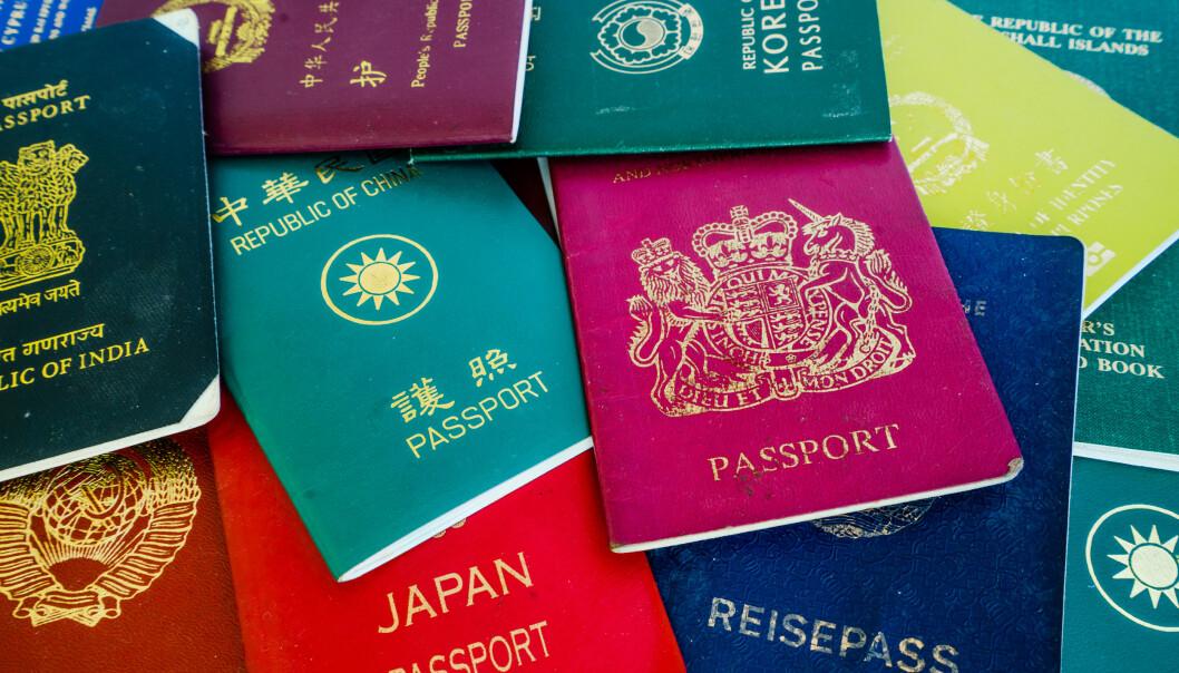 <strong>VERDENS BESTE:</strong> Passet som gir deg innreise til flest mulig land uten visum, er verdens mest verdifulle. Og for 2020 er det Japan som går av med seieren, med 191 land. Det norske passet har falt på listene de siste årene, og er nå havnet i en gruppe som er plassert på nivå 8. i rankinglista. Foto: Shutterstock/NTB scanpix