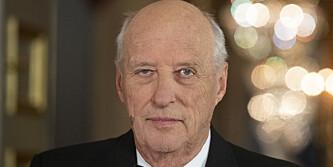 Kong Harald innlagt på sykehus