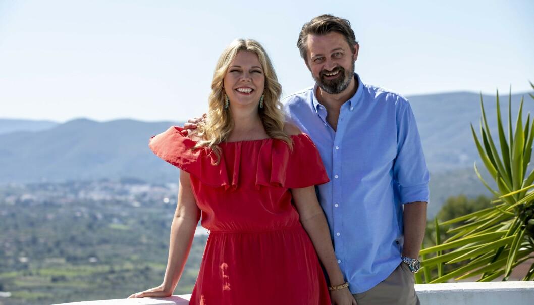 <strong>CASA NUMME:</strong> Paret Numme er premiereklare med eget TV-program. Under innspillingen i feriehuset i Spania lettet de på sløret også om egne opp- og nedturer i forholdet. FOTO: TV2