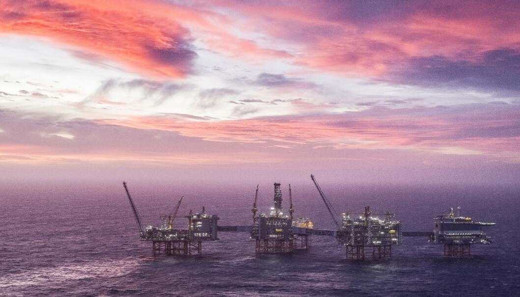 <strong>TRENDEN SNUR:</strong> Johan Sverdrup-feltet er det tredje største oljefeltet på sokkelen. Oljedirektoratet spår store inntekter fra feltet, og at produksjonen vil øke i 2020, etter å ha gått ned i 2019. Foto: Carina Johansen / NTB Scanpix