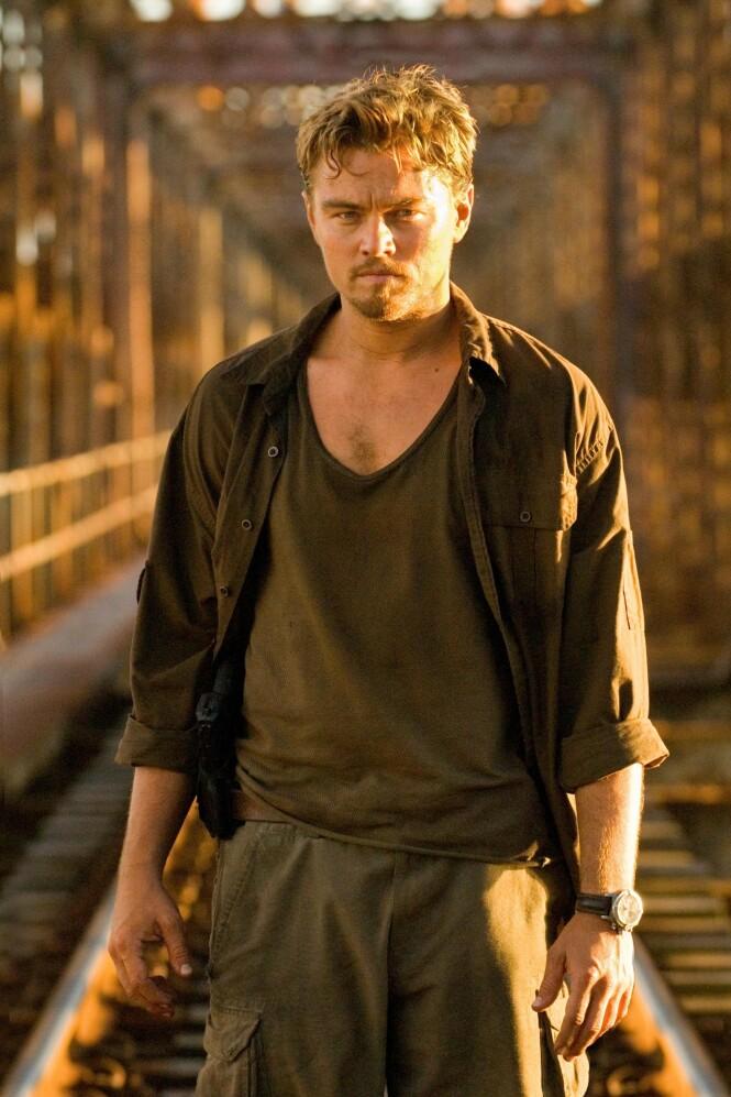 2006: Hollywood-stjernen Leonardo DiCaprio har tidligere ikke lagt skjul på at han har vært nær døden opptil flere ganger i løpet av livet sitt. Her avbildet i filmen «Blood Diamond». Foto: NTB Scanpix