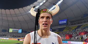 image: Lader opp til OL på pappseng