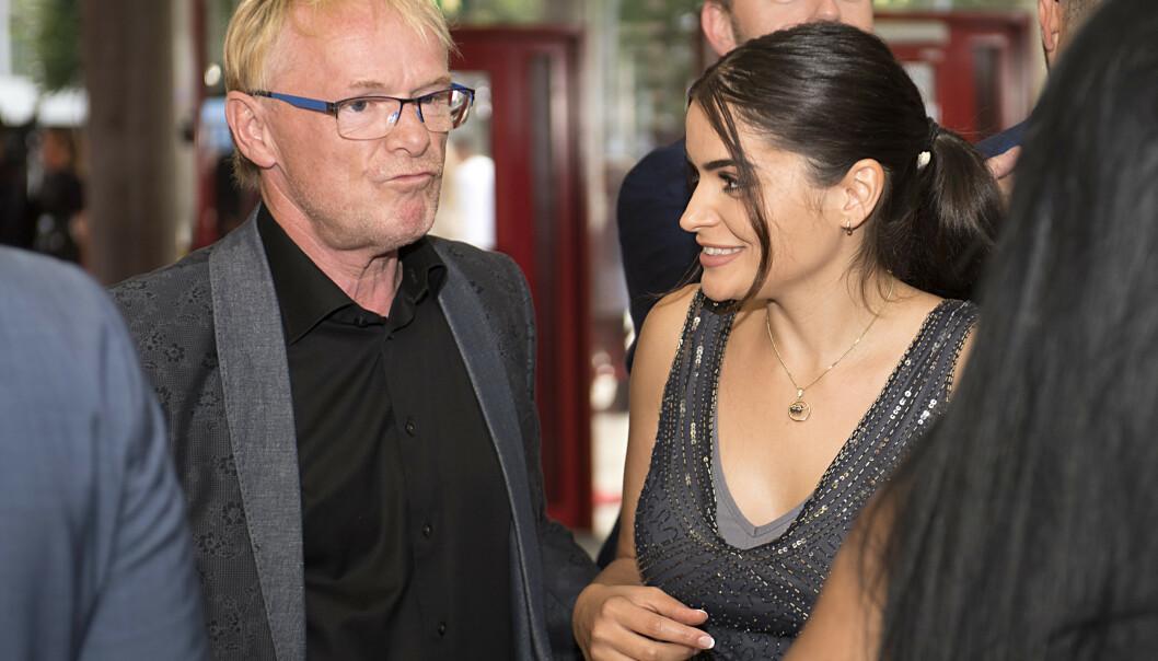 Per Sandberg og Bahareh Letnes har blitt drapstruet av en mann i slutten av 20-årene. Han er nå varetektsfengslet i to uker. Foto: Marit Hommedal / NTB scanpix.