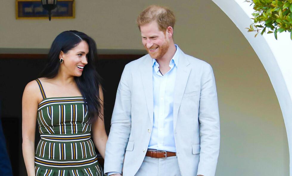 SJOKKAVGJØRELSE: Onsdag kveld fortalte hertuginne Meghan (38) og prins Harry (35) at de trekker seg fra sine offentlige roller. Nå går de en helt ny tid i møte. Foto: NTB Scanpix