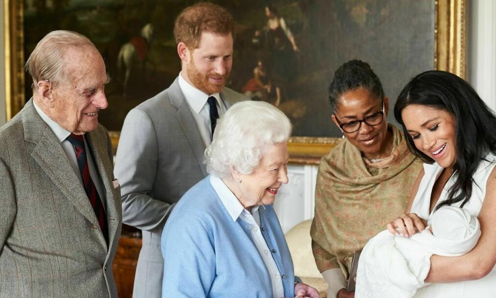 UENIGE: Prins Harry og hertuginne Meghan gikk imot dronningens råd. Foto: NTB Scanpix