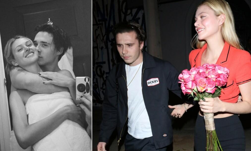 NY FLAMME: Brooklyn Beckham delte kjærlighetserklæring til ny flamme på sosiale medier denne uken. Foto: NTB Scanpix