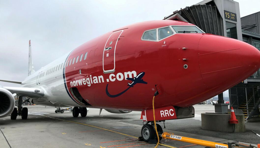 <strong>OMDIRIGERER:</strong> Norwegian slutter å fly over Iran, og omdirigerer sine fly. Foto: Lefteris Karagiannopoulos / Reuters / NTB Scanpix