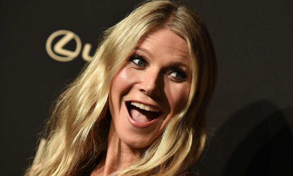 VEKKER OPPSIKT: Gwyneth Paltrow selger lys med duft av vagina i nettbutikken sin. De skulle vise seg å være svært populære blant kjøperne Foto: NTB Scanpix