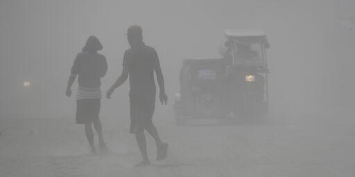 image: Askefaste fly i Manila
