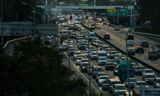 image: Bilsalget faller for andre år i Kina