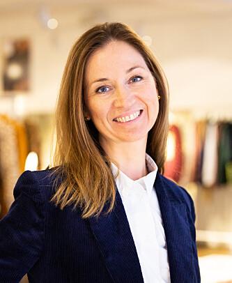 ØNSKER LØSNING: H&M-kjedens pressetalskvinne Kristin Fjeld. Foto: H&M