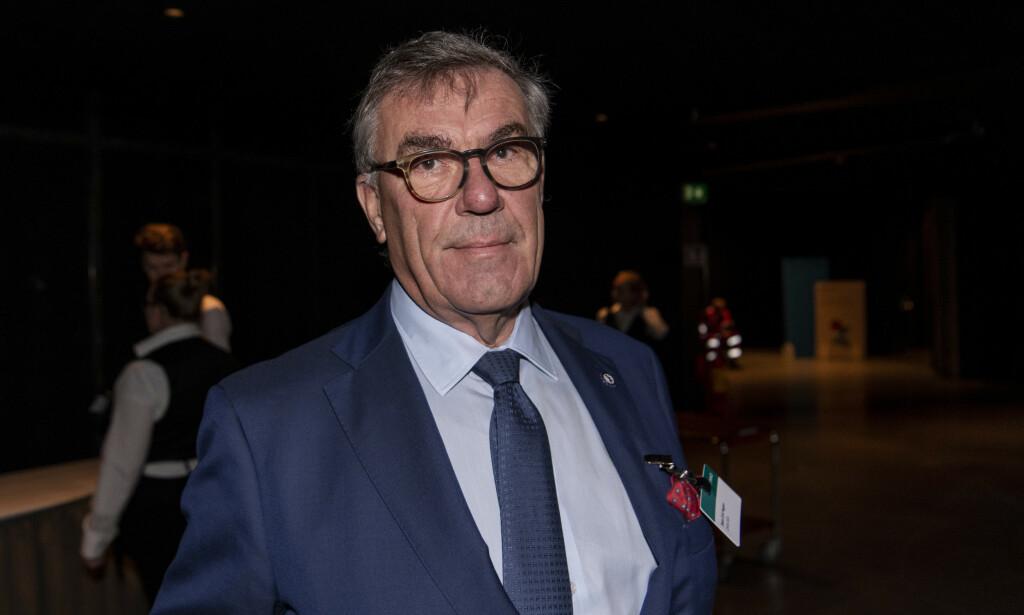 SKUFFET: Mangemilliardær Stein Erik Hagen er skuffet over at regjeringen ikke har fjernet formuesskatten. Foto: Lars Eivind Bones / Dagbladet